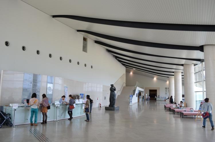 Musee d'art de Shimane, hall d'accueil