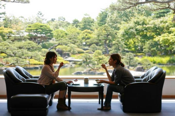 Salon de thé du jardin Yuushien