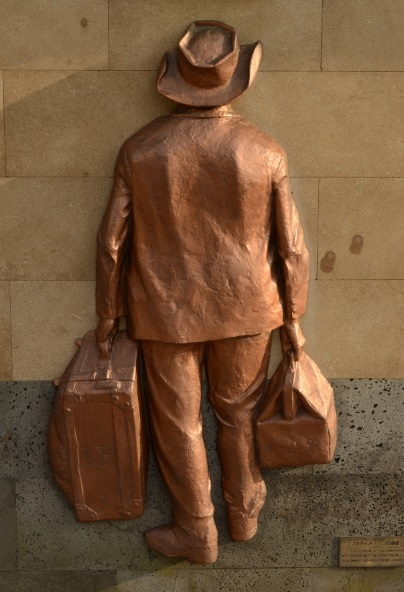 Lafcadio Hearn, Statue in Matsue City, Japan