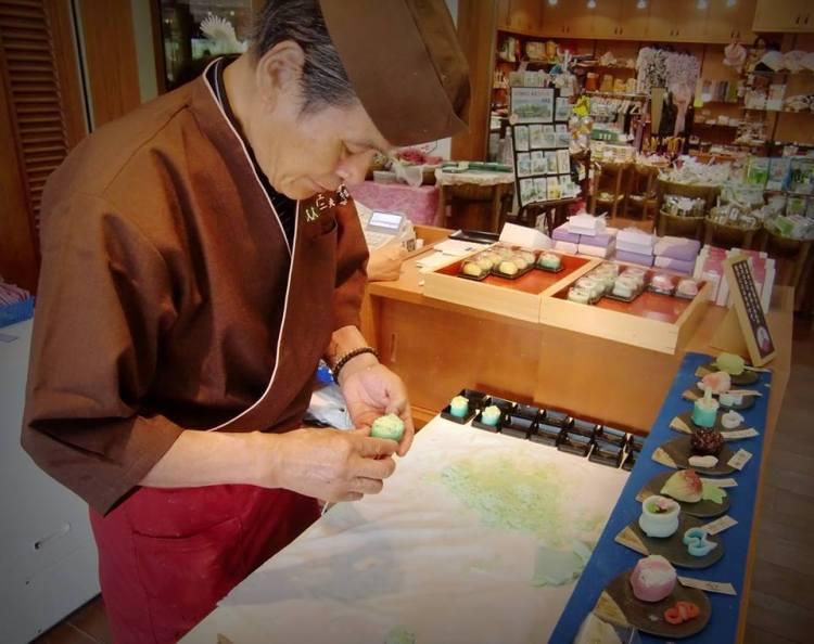 Matsue History Museum, Kiharu Tearoom, Wagashi Maker, Tsugio ITAMI