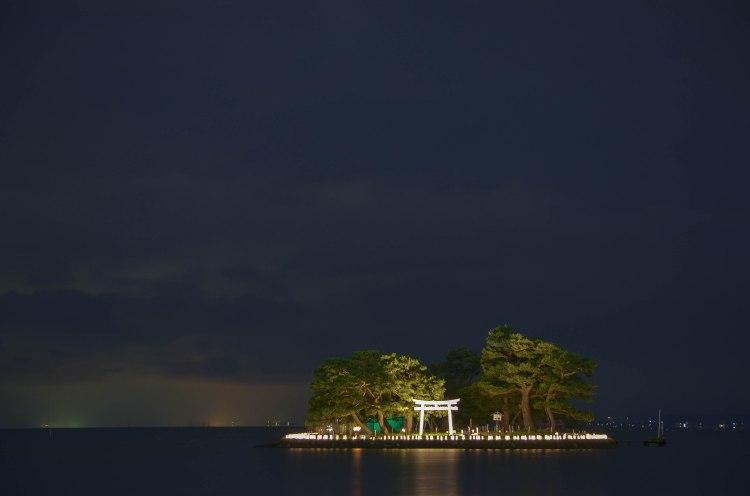 L'île illuminée
