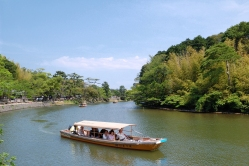Horikawa Sightseeing Boat and Shiomi Nawate Street  - Matsue, Japan