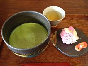Matsue History Museum, Wagashi and Matcha tea