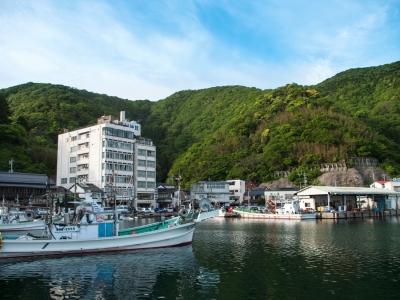 Mihonoseki Miho jinja port pêche vieux kitamaebune ebisu Matsue Shimane Japon Japan tourisme voyage vacances rural