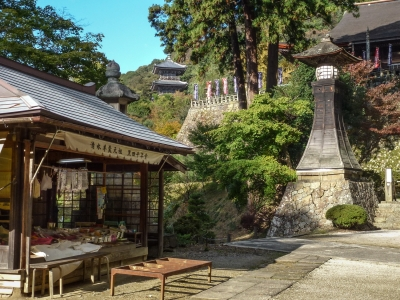 Temple Kiyomizu dera bouddhiste pagode nature kizomizudera Musée art d'art adachi bijutsukan Yasugi Matsue Shimane Japon Japan voyage tourisme vacances rural experience