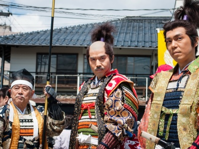 Matsue Shimane Japon tourisme voyage trip rural authentique reculé festival guerriers samourai samurai musha gyoretsu musha-gyoretsu parade