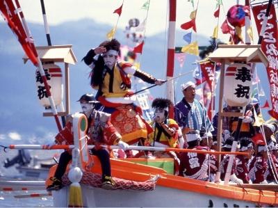 Matsue Shimane Japon tourisme voyage trip rural authentique reculé rituel festival matsue horan enya horanenya procession bateaux kabuki tradition