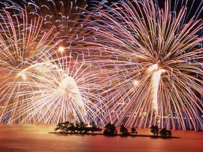 Matsue Shimane Japon tourisme voyage trip rural authentique reculé feu feux artifices suigosai festival matsuri été lac shinji