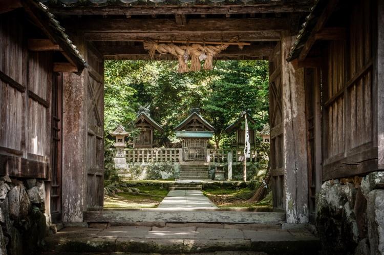 Matsue Shimane Japon tourisme voyage vacances rural sentiers battus hors izumo taisha izumotaisha izumo-taisha sanctuaire grand shinto shintô enmusubi okuninushi sacré dieux province mythologie izumo kyo izumokyo kitajimasan kitajima