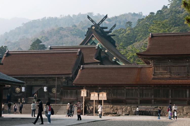 Matsue shimane japon tourisme voyage trip rural authentique izumo taisha izumo-taisha sanctuaire shinto okuninushi mythologie kojiki dieux plus grand honden 24m pays