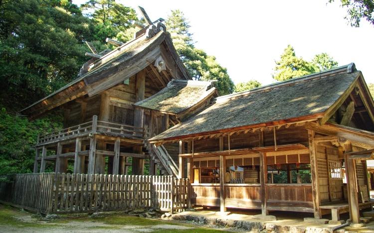 kamosu jinja sanctuaire taisha zukuri taishazukuri