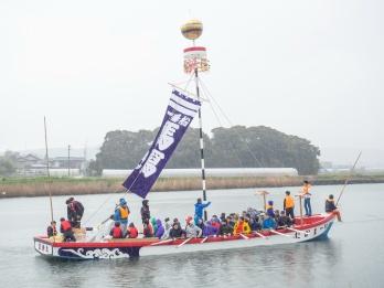 Matsue Shimane Japon tourisme voyage vacances rural sentiers battus hors horan enya horan-enya festival matsuri shinto nautique ohashi 10 ans dix