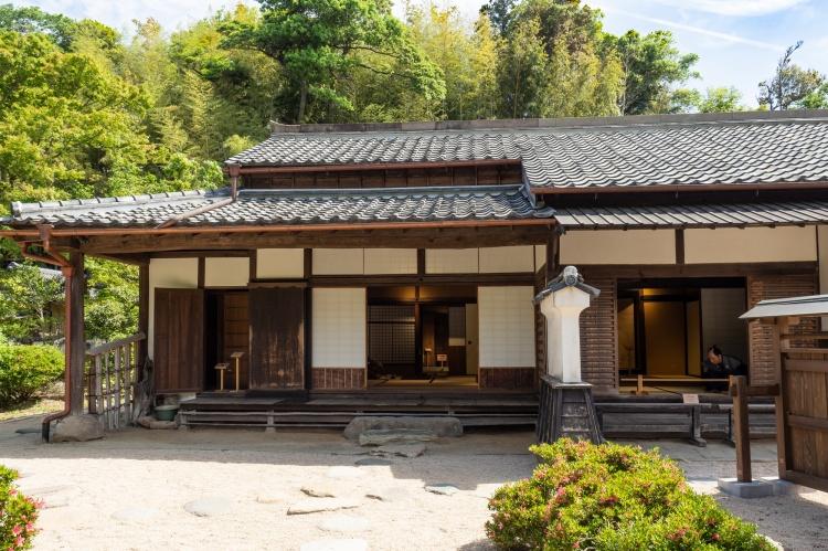 Résidence guerrier samourai samouraï samurai Rue Shiomi Nawate samourai samurai Chateau Matsue Shimane Japon rural histoire voyage tourisme authentique sentier battus